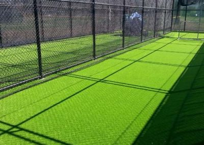 batting cage with synthetic grass - Houston Fake Grass