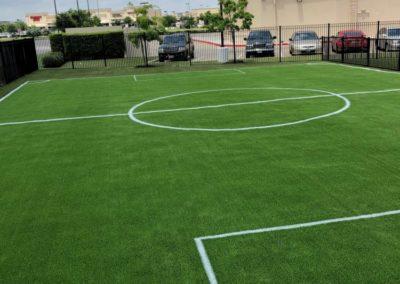 Soccer Field Construction - Houston Fake Grass