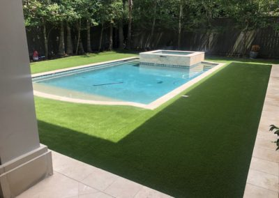 Pool Landscaping Fake Grass