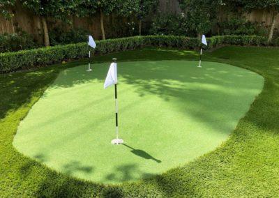 Backyard Golf Green - Houston Fake Grass